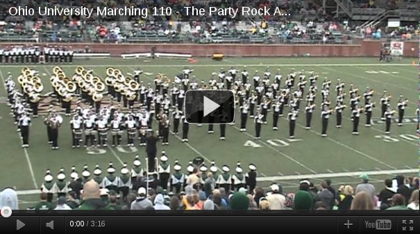 Marching band - party rock Ohio University